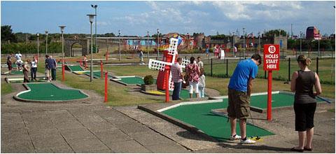 德式迷你高尔夫场地尺寸均有统一要求