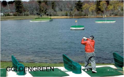 水上高尔夫的特点