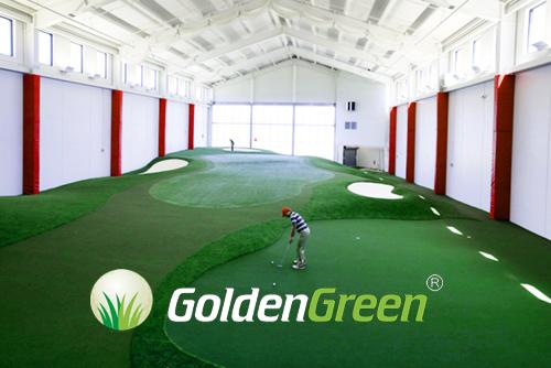 重庆体育馆室内迷你高尔夫完工!